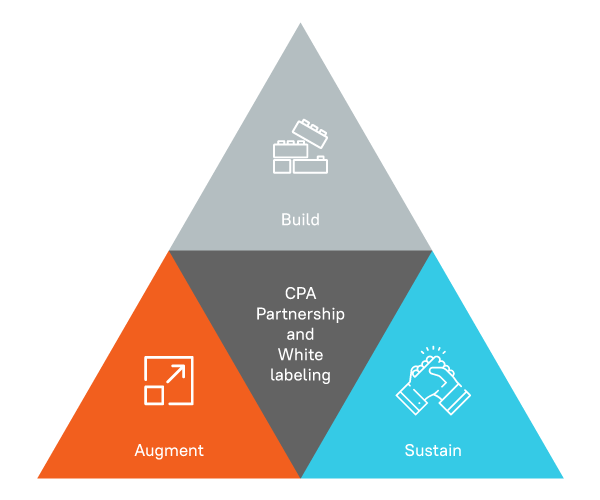 Choosing White Label Partnership for Your CPA Practice Infographic